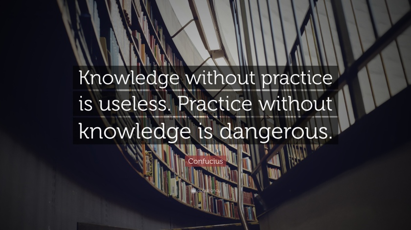 Confucius - Knowledge without Practice