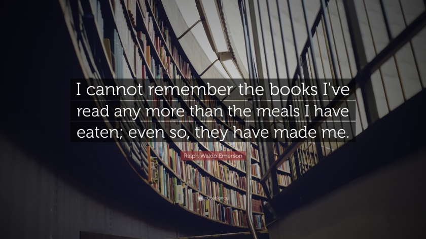 Ralph Waldo Emerson - Books I've Read