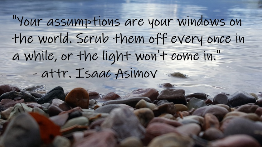Isaac Asimov - Assumptions windows on world