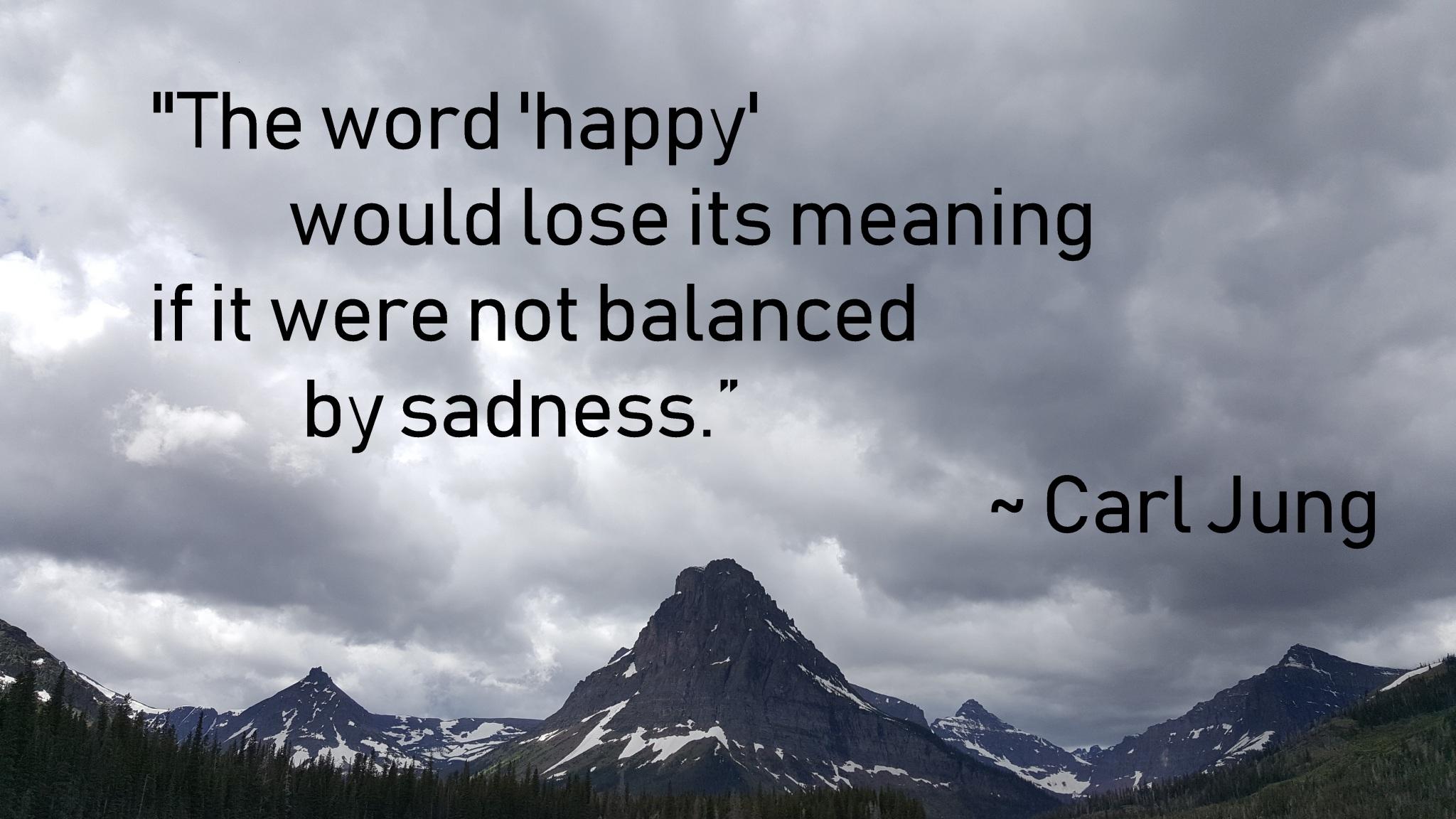 sadness - carl jung