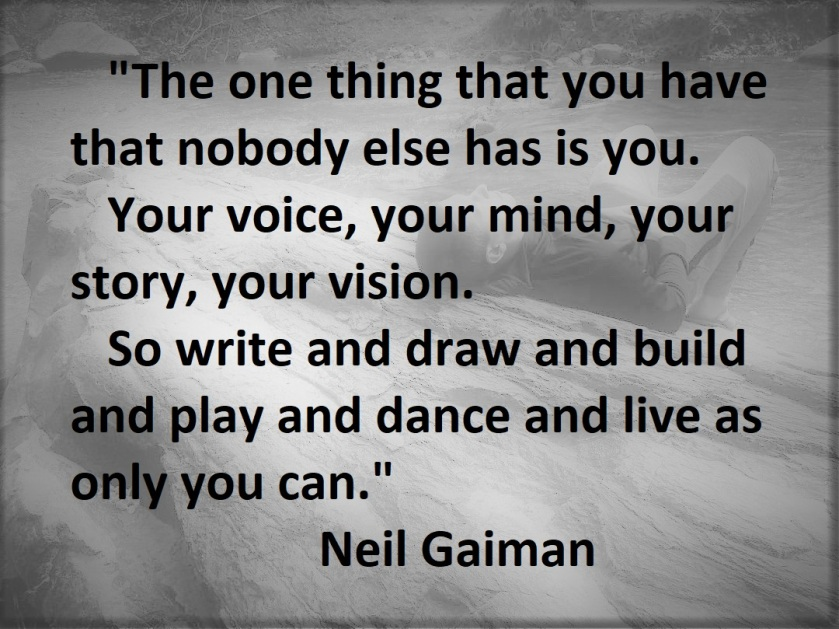 Neil Gaiman - As Only You Can