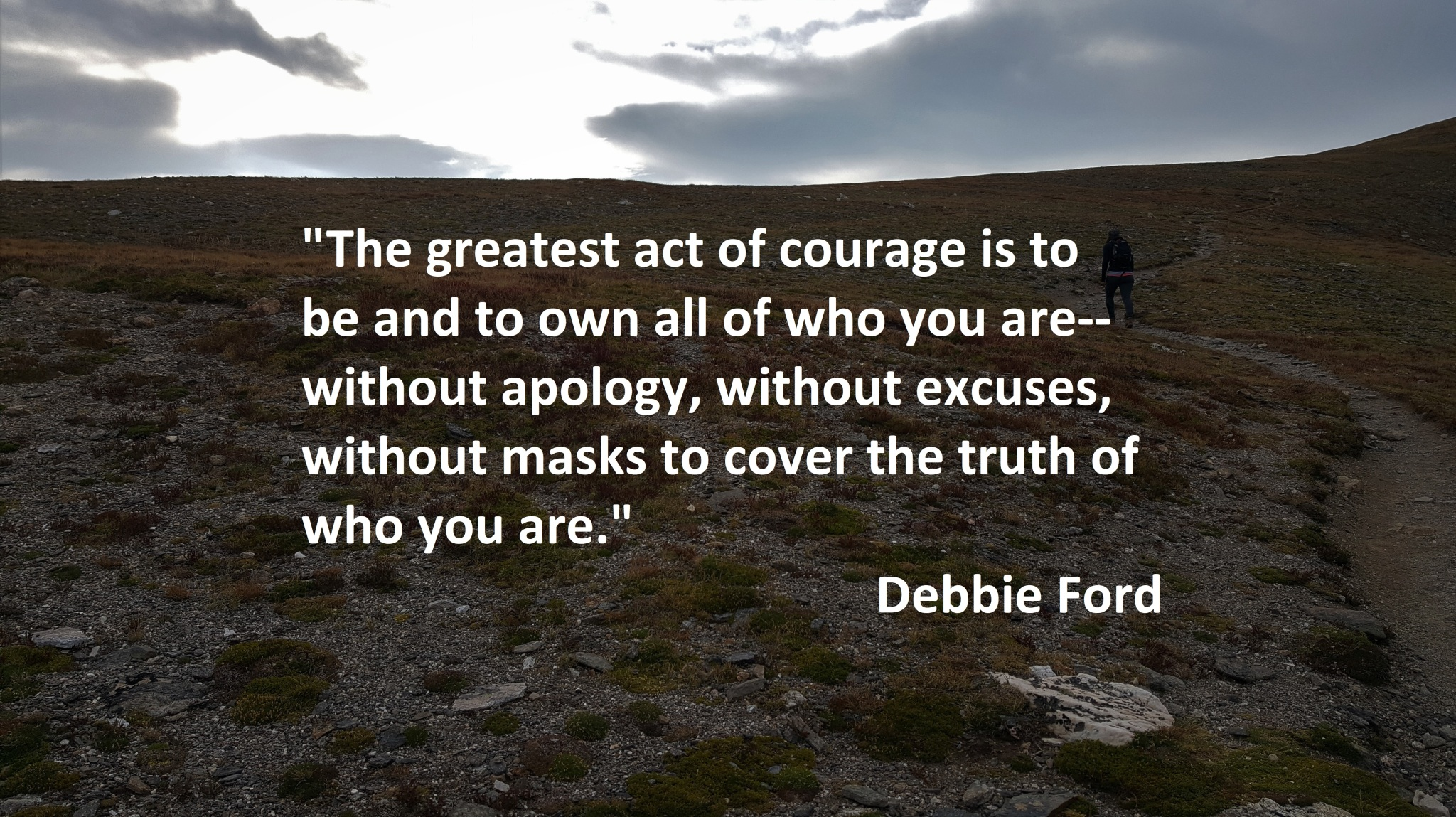 Debbie Ford - Be Who You Are