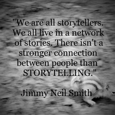 Jimmy Neil Smith - connection of storytelling