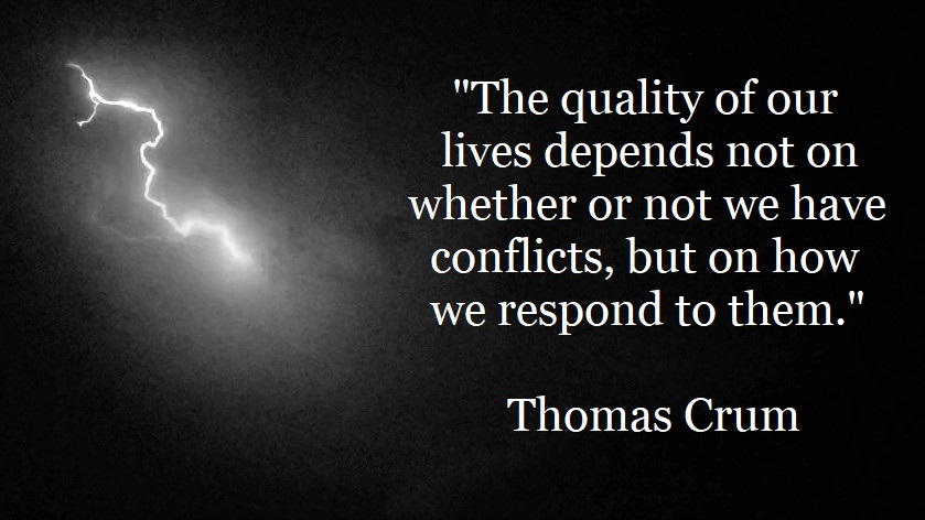 Thomas Crum - how we handle conflicts