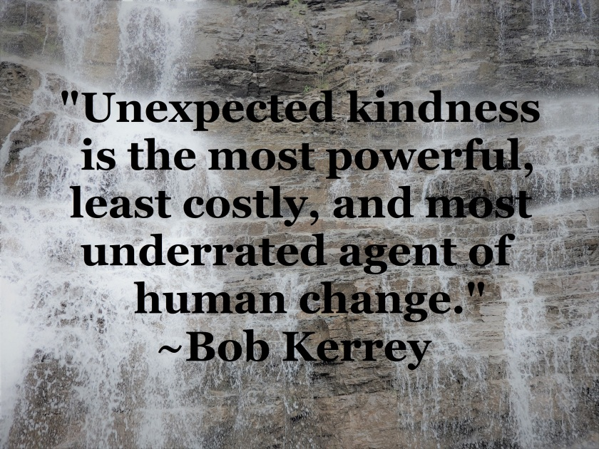 Bob Kerrey - Kindness is powerful