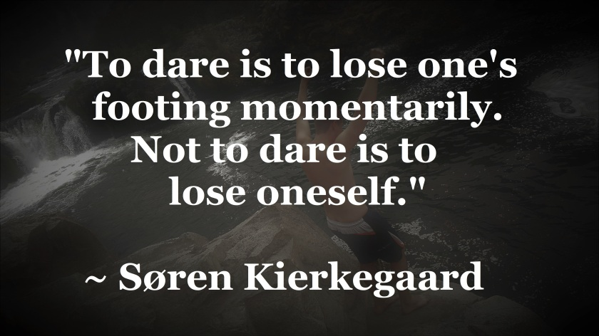 000 Soren Kierkegaard - not to dare is to lose oneself