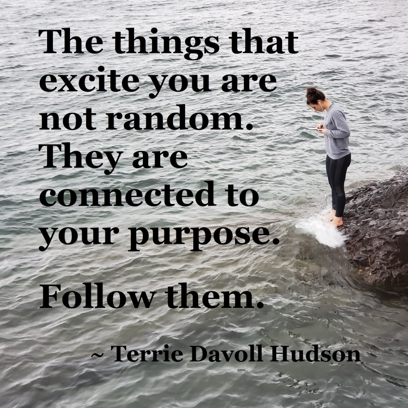 Terrie Davoll Hudson - the things that excite you