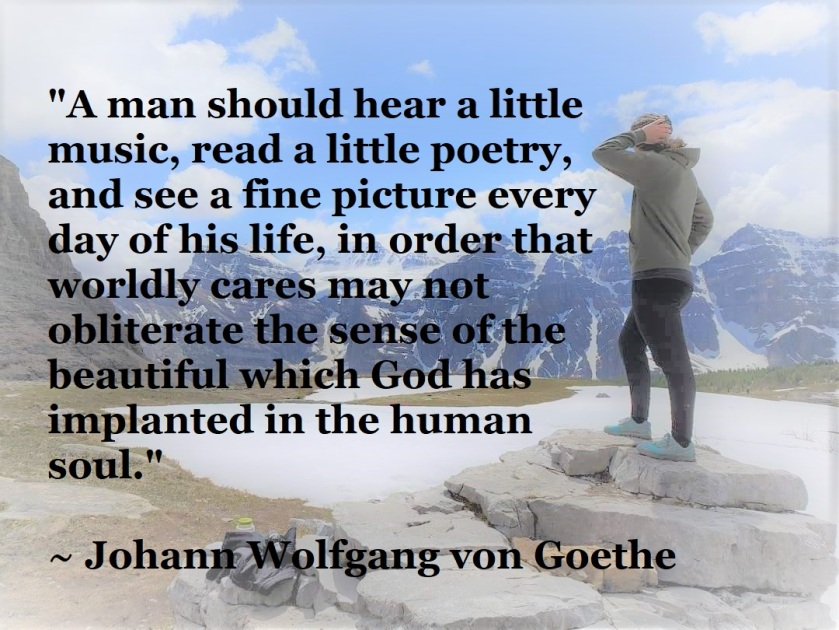 Goethe - be inspired every day