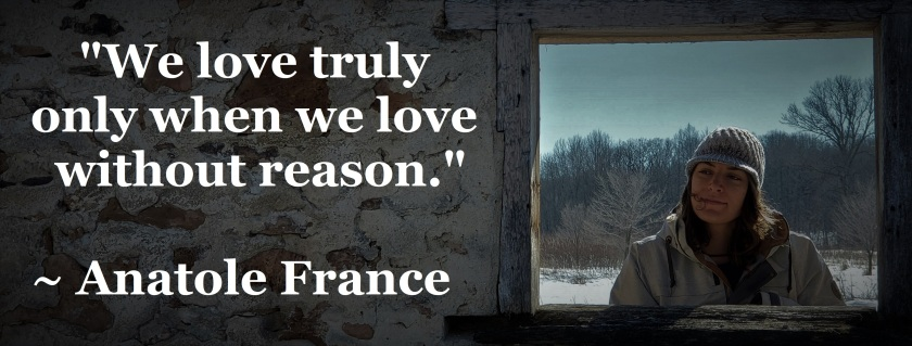 Anatole France - love without reason